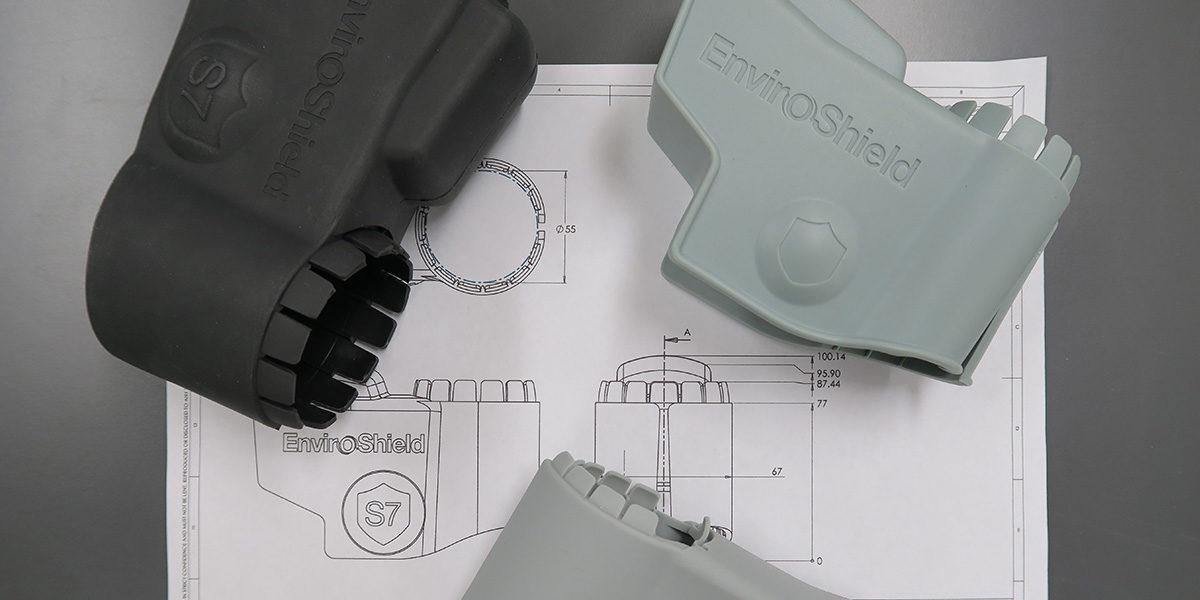 Product engineering - enviroshield mechanical drawing