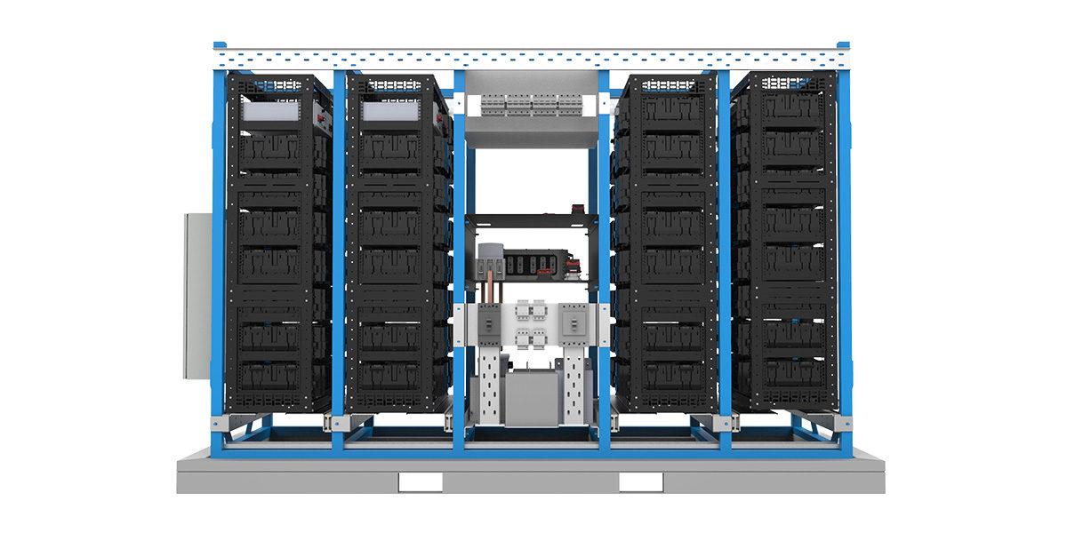modular hybrid power station
