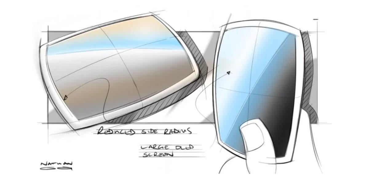 Design sketch modelling